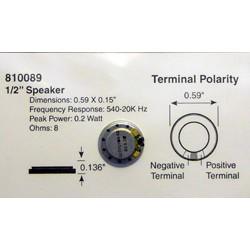 """678-810089 Speaker 1/2""""  14 x 3.8mm_33040"""