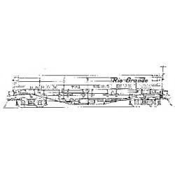 300-5188 HOn3 D&RGW Drop Bottom Gondola_33145