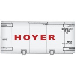 949-8108 HO 20' Tank Container - kit - Hoyer_33487