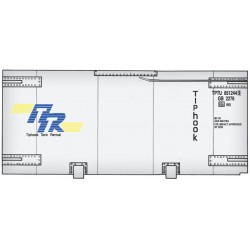 949-8109 HO 20' Tank Container - kit - Tiphook_33495