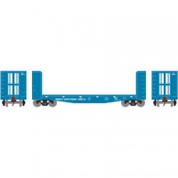 HO 40' Pulpwood flat Car GN # 160029_33692
