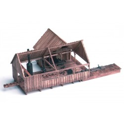 KMP-SSwP  HO Steam Sawmill with Planer_33879
