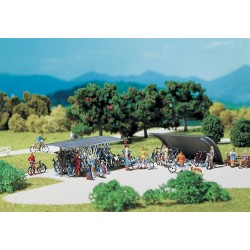 Fal-272535 N 2 Fahrradständer mit Fahrrädern_34463