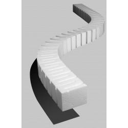 "Erhebung, 5,0cm hoch (2"" Riser)_3454"