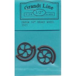 "300-3921 G  16"" Brake Wheel  1:24_34656"