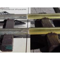 C250 Gleisprofil, Aluminium blank 6ft lang 183cm_35347