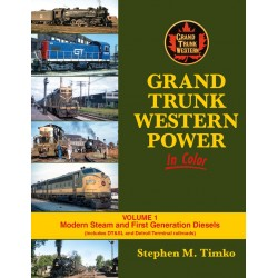 484-1613 Grand Trunk Western Power In Color Volume_35761