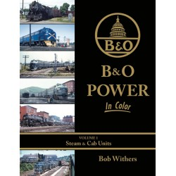 484-1617 B&O Power In Color Volume 1: Steam & Cab_35769