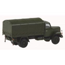 HO Saurer 2DM Militärlastwagen Plane_35872