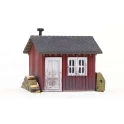 785-BR5057 HO Work Shed - Built-&-Ready_35894