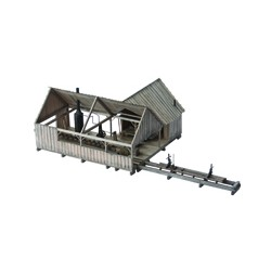 KMP-SSwP  O-Scale Steam Sawmill with Planer_36051