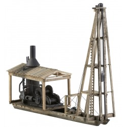 KMP-SPD O-Scale Steam Pile Driver_36090