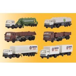 Z Set LKW-Sattelzüge, 6 Stück_36137