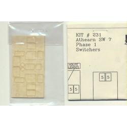 152-231 HO Pre-Masked Laser-Cut Acrylic Glazing Wi_36205