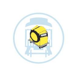 13-157 HO CB&Q Headlight Cuckoo Clock HL 157_36527