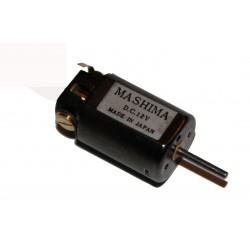 6104-1224 Mashima Motor 12 x 24 1.5mm Shaft_36548