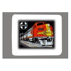 5306-119m mousepad ATSF Super Chief_36657