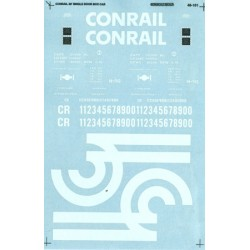 460-48-101 O Conrail 50' Single Door box Car - Wat_36723