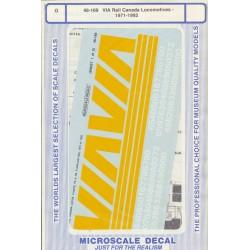 460-48-169 O VIA Rail Canada Locos 1971 - 1992_36734