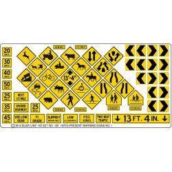 184-105 HO Highway signs_36769