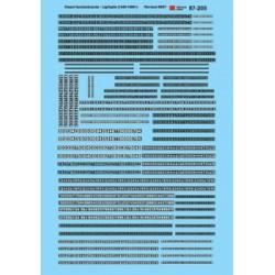 460-60-205 N Numberboards Diesel - Lightable - Wat_37004