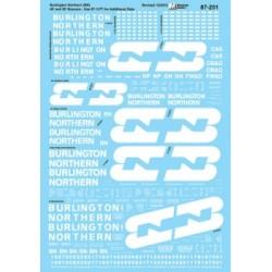 460-60-251 N Burlington Northern Boxcars, Open Hop_37018