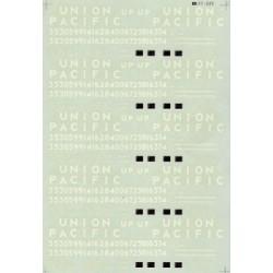 460-60-222 N Union Pacific Bathtub Coal Gondolas (_37023