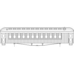 HOn3-25 D&RGW Coach Closed Vestibul_37103