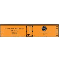 293-10164 HO Decal Set 40' Wood Reefer PFE R40-4_37407