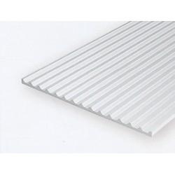 Polystyrol Board & Batten 15 x 30cm Kerbab.1,8mm_375