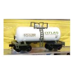 """150-3241 N """"Beer Can"""" Tank Car Atlas Chemical_37536"""