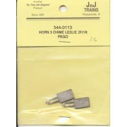 344-113 N Horn3 Chime Leslie 2 Front/1 Rear (2)_37923