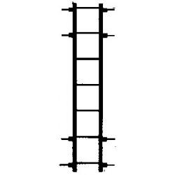 HO Frt car ladder long 4/_37951