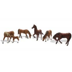 HO Pferde - Chestnut Horse_3823