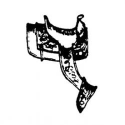 650-2225 HO Sattel  / Western Saddle (2)_38252