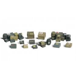 HO Diverse Kisten - Ladegut - Assorted Crates_3835