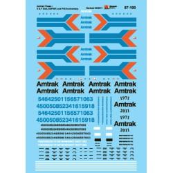 460-87-100 HO Amtrak® Diesels (1971-1975) Amtrak P_38379