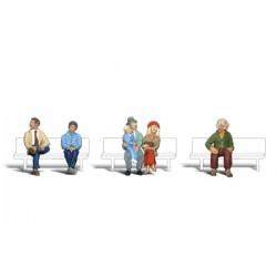 HO Passagiere sitzend - Passengers_3851