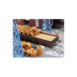 HO Draht-coils rostig 30 Stück magnetisc_38739