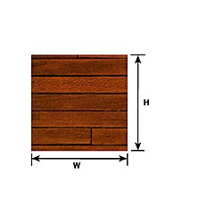 570-91856 1:12 DARK HARDWOOD FLOOR SHEET_39081