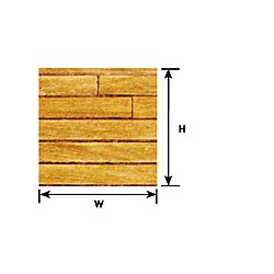 570-91857 1:12 LIGHT HARDWOOD FLOOR SHEET_39086