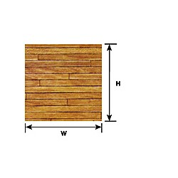 570-91859 G (1:24) LIGHT HARDWOOD FLOOR SHEET_39090