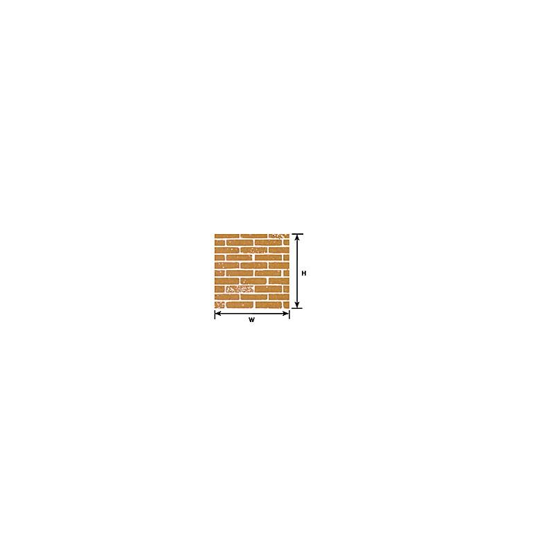 570-91881 1:12 BROWN BRICK SHEET_39115