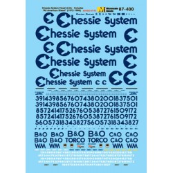 "460-60-400 N Chessie System Diesels (1972-1987)-""D_39278"