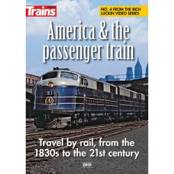 DVD America & the Passenger Train_39310