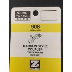 Z Maerklin Style Coupler (Micro Trains Line)_39369