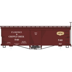 HOn3 Box Car Florence & Cripple Creek Bausatz_39708
