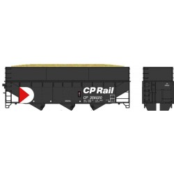 6-60237 HO 70t Offset wood chip car CP Rail 356012_39957