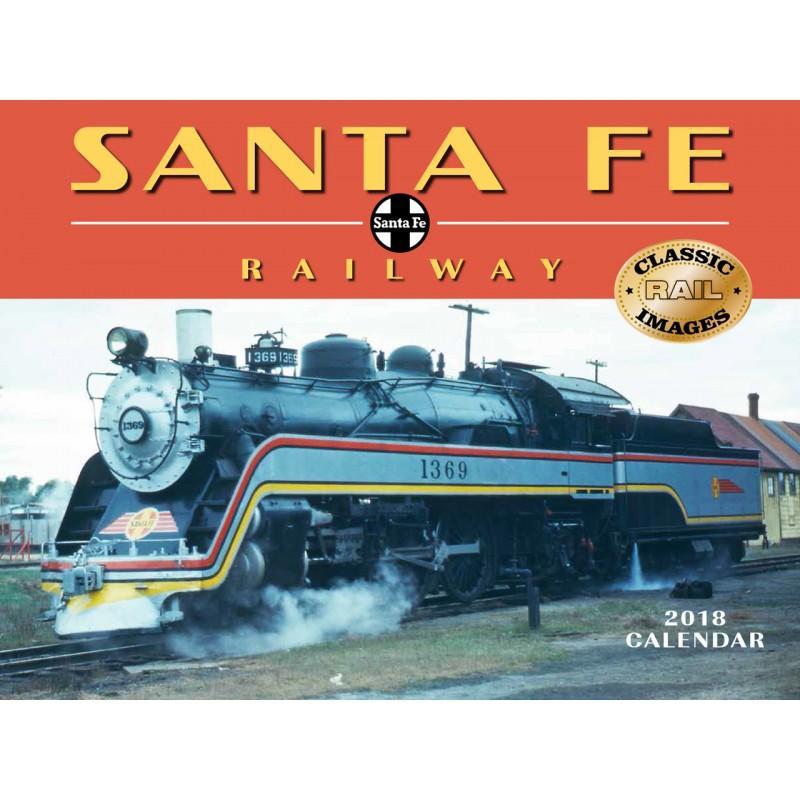 6908-1898 / 2018 Santa Fe Railway Kalender_40211