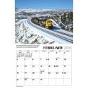 6908-1898 / 2018 Santa Fe Railway Kalender_40213